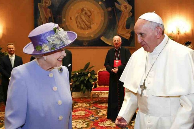 Queen Elizabeth and the Pope