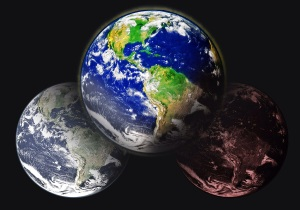 three earths various timelines